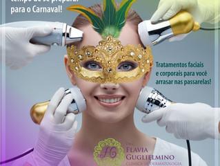 Tratamentos para o Carnaval
