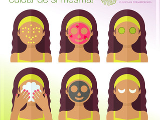 Cuidado com sua pele.