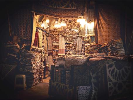 Le termeh, découvrez le cachemire iranien