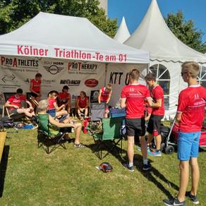 1. Triathlon Bundesliga Düsseldorf 01.07.2018