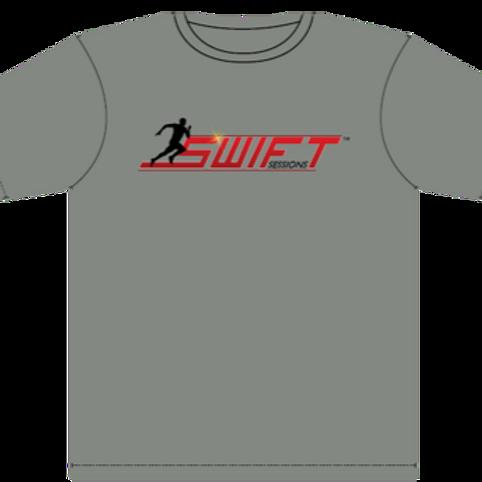 Grey Sweat Technology T-shirt