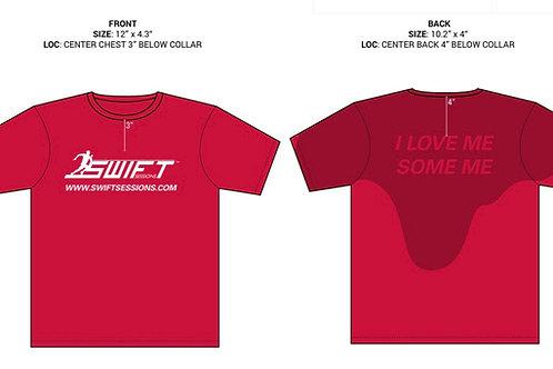 Red Sweat Technology T-shirt