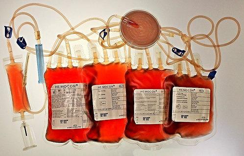 Лейкоцитарный фильтр с контейнерами для крови Helm