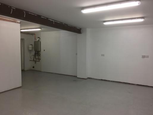 Epoxy floor painting Lincoln