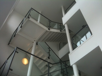 """Fire Retardent Class """"O"""" upgrade painting to Stairwell in lincolnshire"""