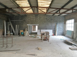 Industrial units preperation for painting