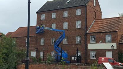 External listed building painting Market Rasen