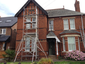 External house painting near Lincoln