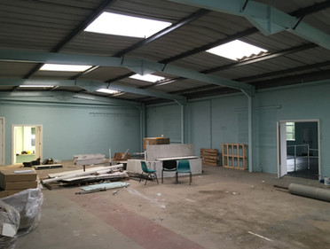 Industrial units prepared for our commercial client