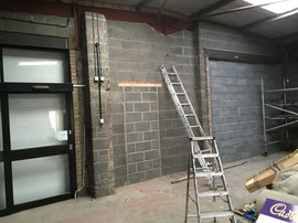 Steel beam painting in lincolnshire
