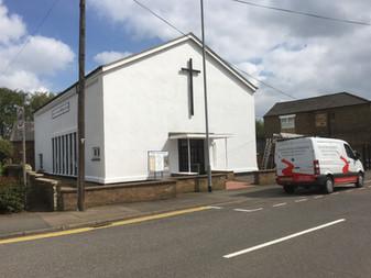 External Painting  Church