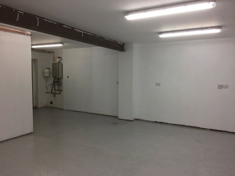 Industrial rooms painting in lincoln