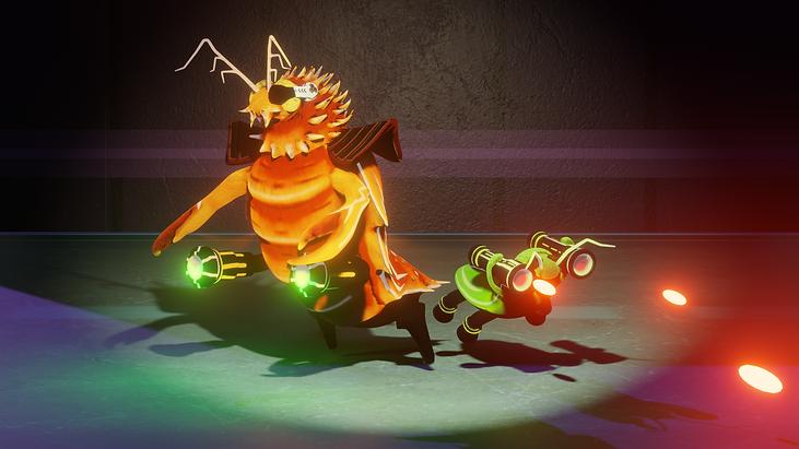 Laser Roaches 2