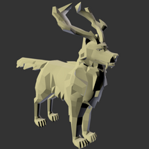 Low-Poly Wolf