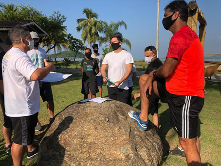 Prefeito visita Ilha do Gambá e discute projeto de revitalização e infraestrutura junto aos usuários