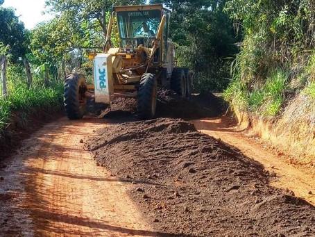 Estrada entre Subaia e Itapeúna irá receber aplicação de revsol