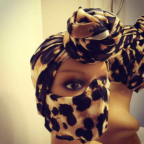 Leopard Wrap Set