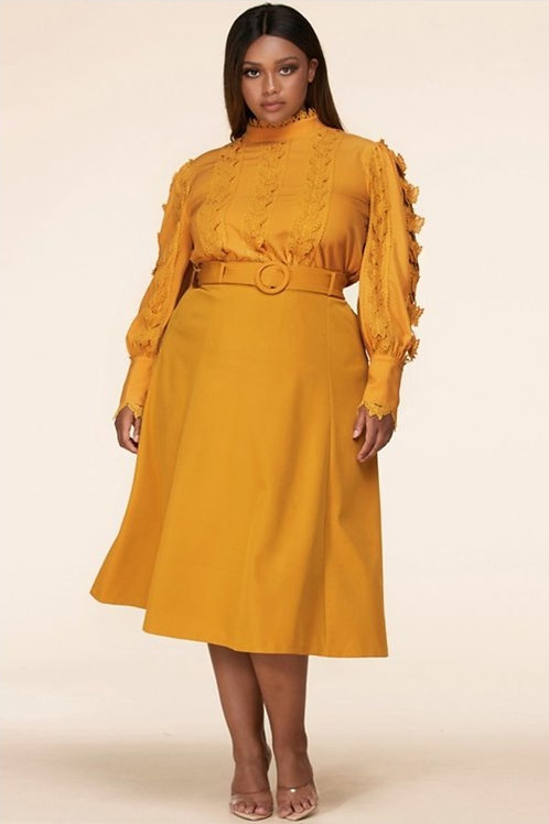 Mustard Two Pieces Set