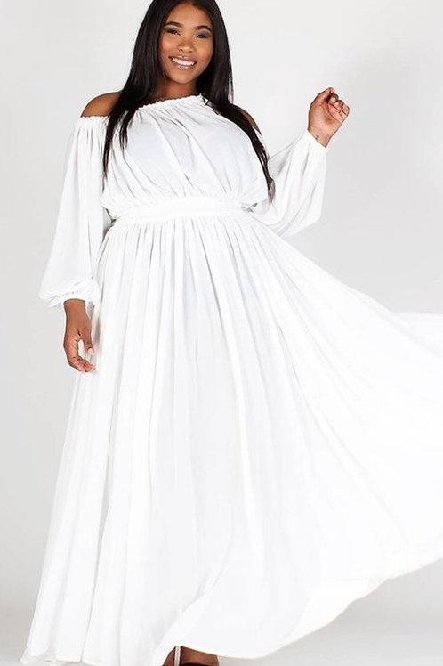 White Greek Goddess Dress