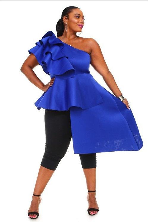 Royal Blue Top