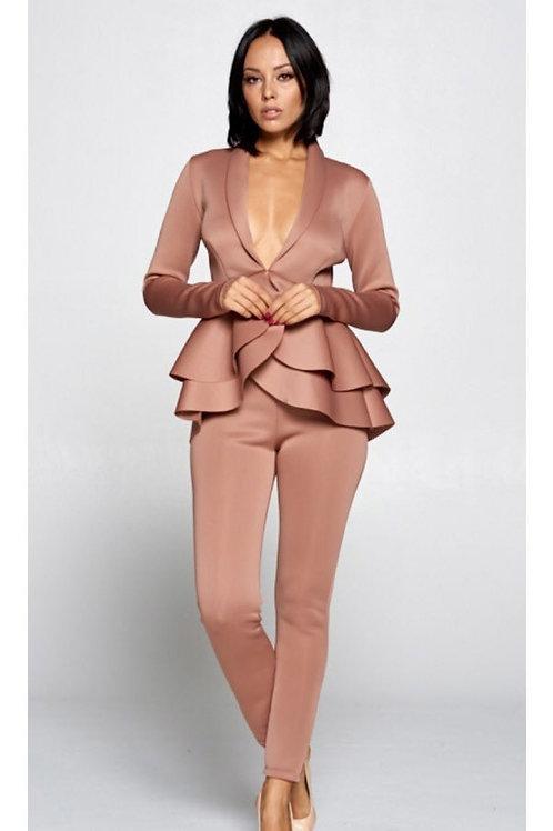 Mauve Pant Suit