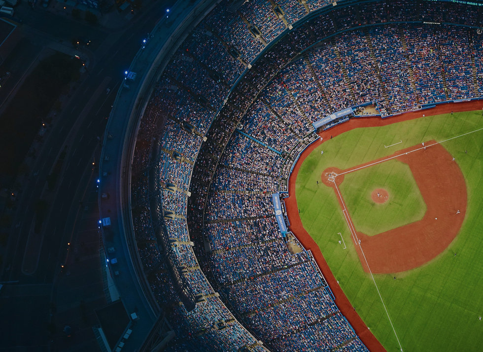 aerial-view-of-sports-stadium-during-day