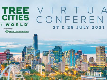 Únete a la 2da Conferencia Virtual Tree Cities of the World
