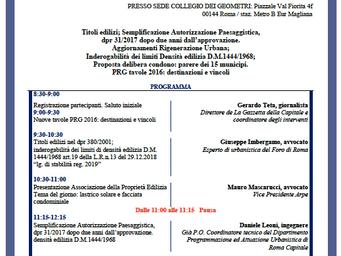 Evento formativo 22/03/2019 - Ore 8:30-13:30