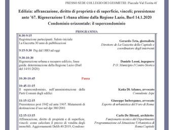 Evento formativo 28/02/2020 - Ore 8:30-13:30