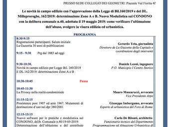 Evento formativo 24/01/2020 - Ore 8:30-13:30