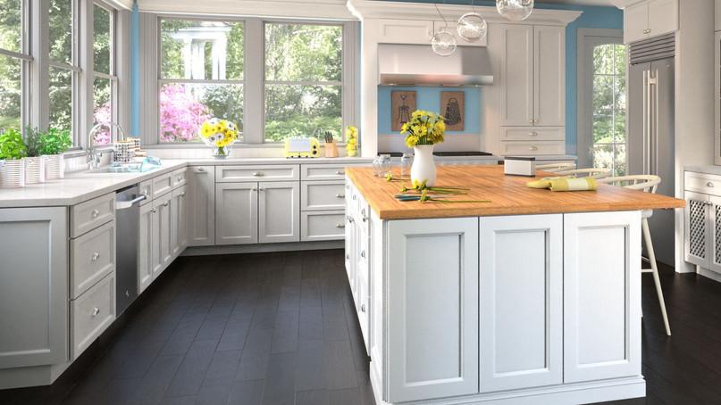 Uptown White Kitchen
