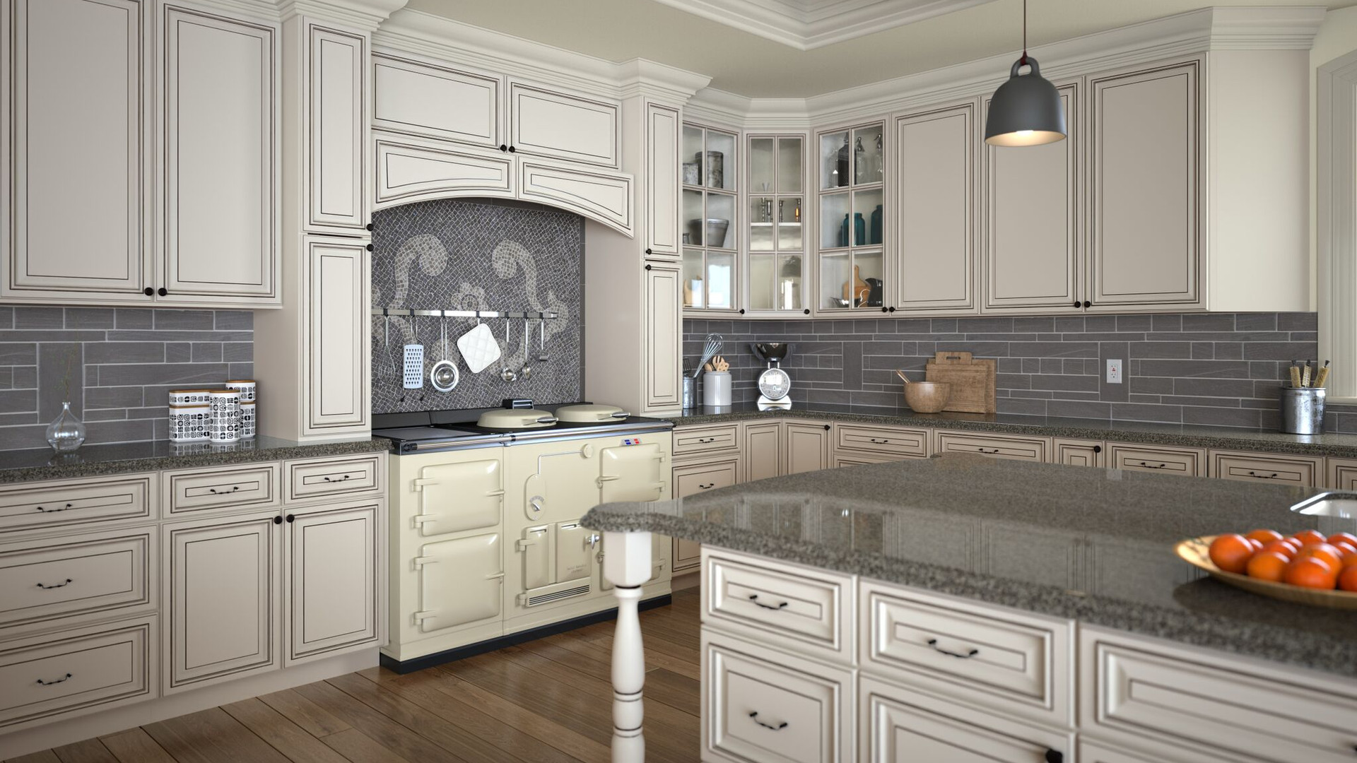 Townsquare Grey Kitchen