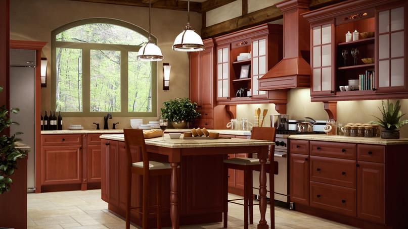 Cinnamon Glaze Display