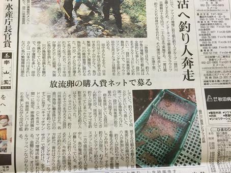 中日新聞に掲載して頂きました!もう少し!