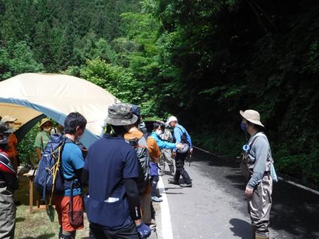6/20(土)段戸川テンカラ講習会&飯田さんルアースクール