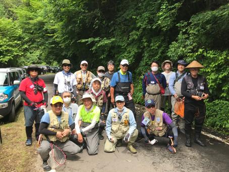 ラスト 6/27(土)段戸川テンカラ講習会 レポート