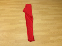 Plain Red Churidaar Pants