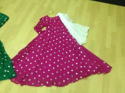 Anarkali Pink Kameez Dress - NEW