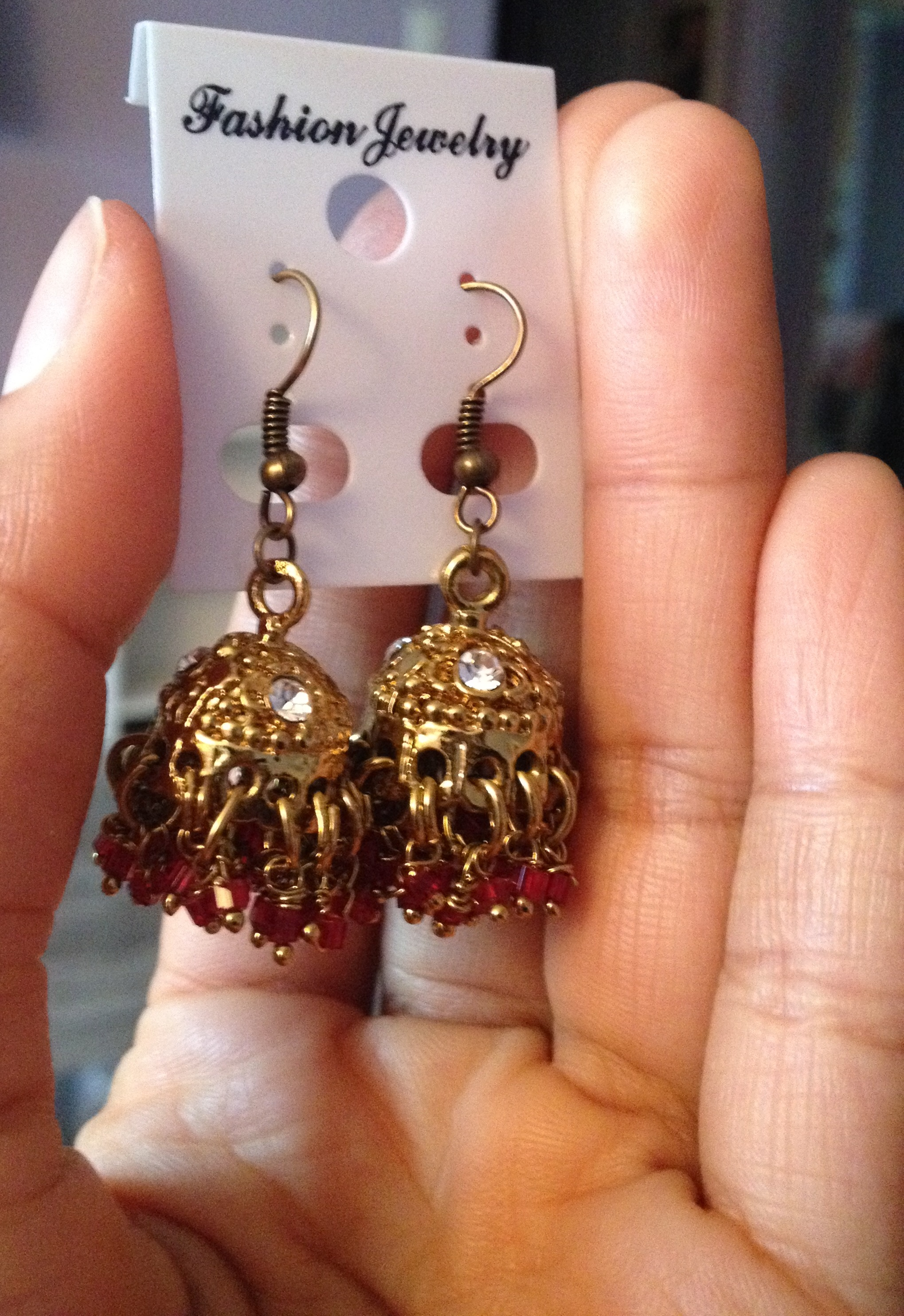 Handmade Up-cycled Earrings!
