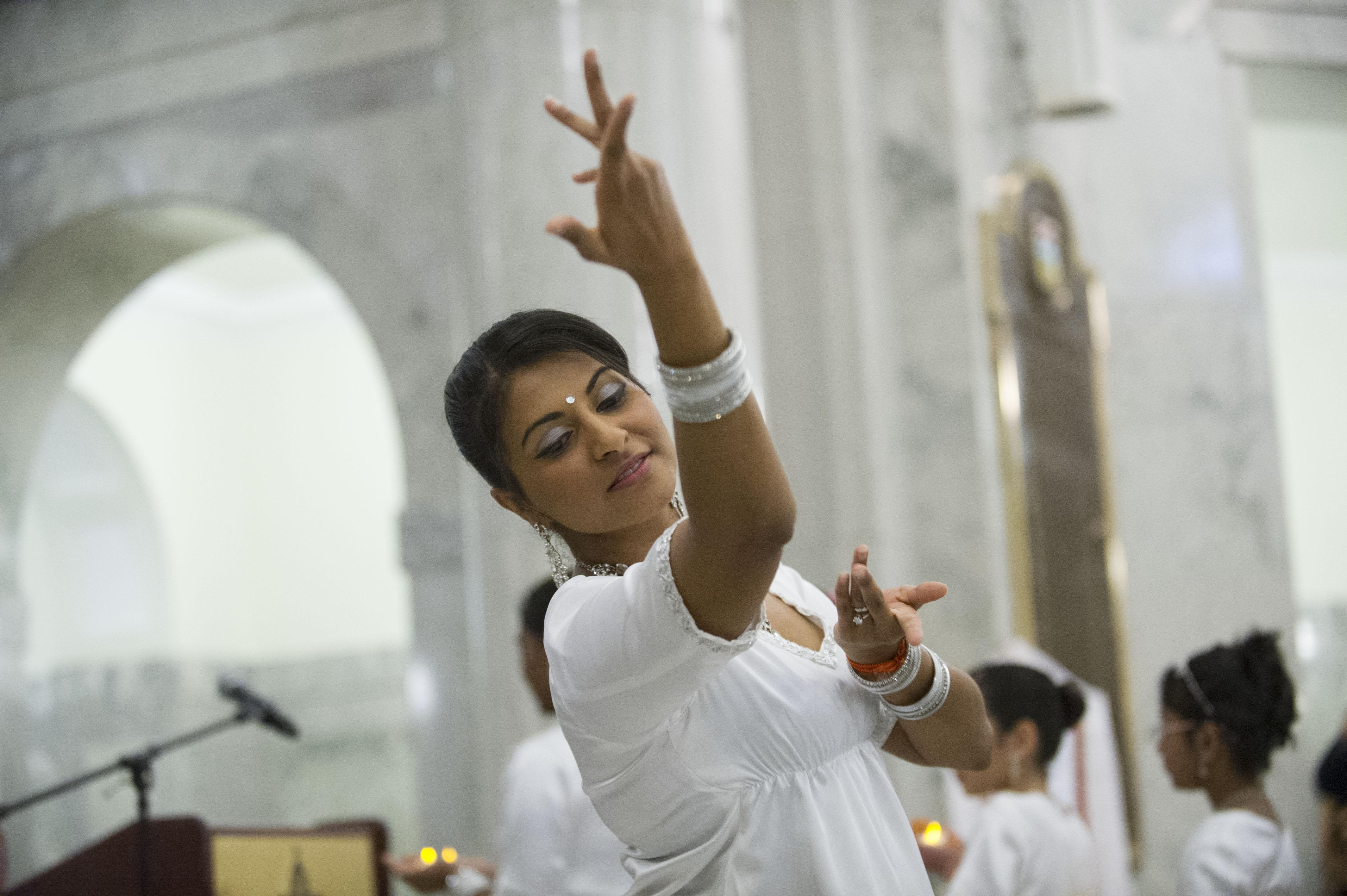 Inaugural Diwali at the Legilsature
