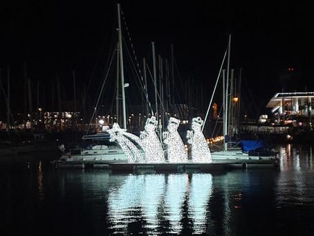 Vianoce a Nový Rok v Barcelone