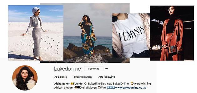 Top Ten SA Fashion Instagram Bloggers