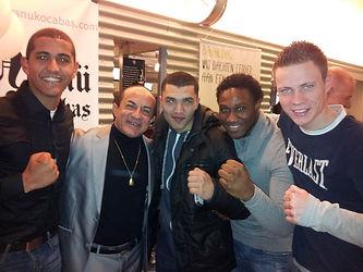 Rafik, Ismail Salas, Feisal, Ik & Sjoerd