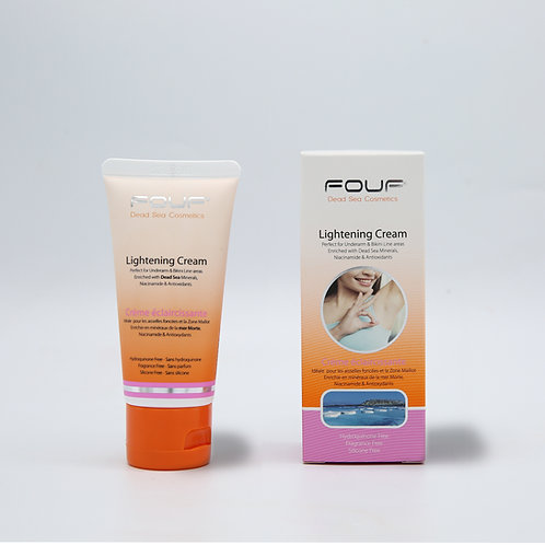 FOUF Lightening Cream (Dark Underarms - Bikini Line)