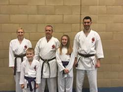 Karate grading success Chesterfield