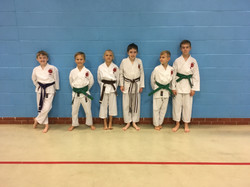 Mansfield Karate Grading Success