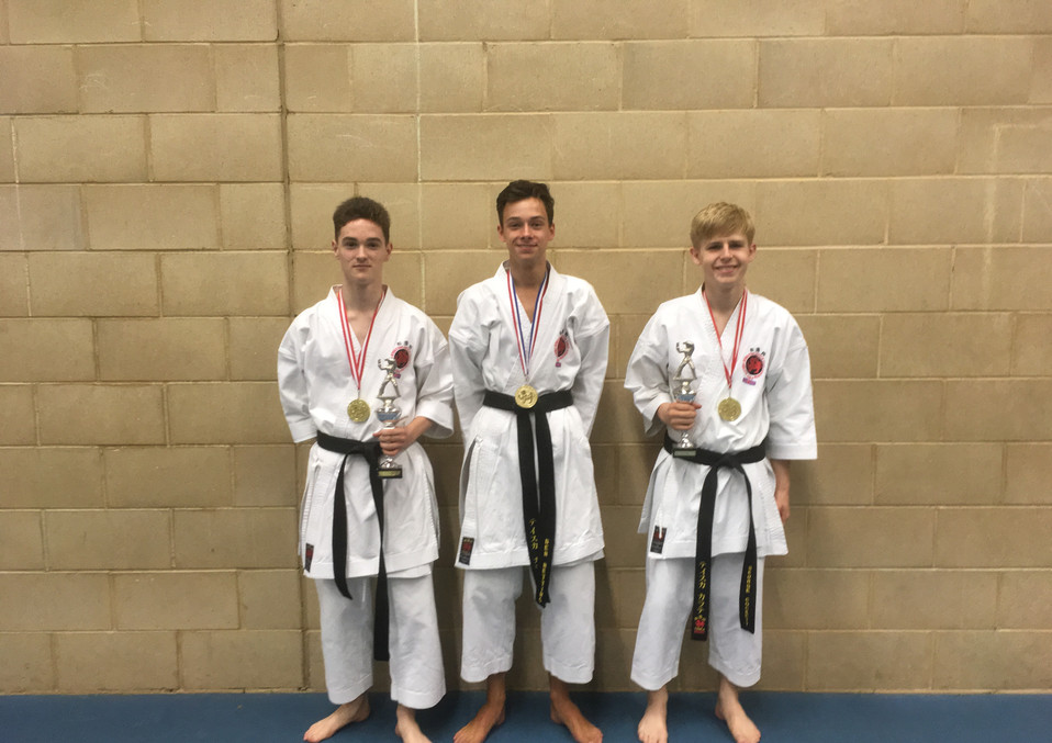 Chesterfield Karate Championship Success 2018