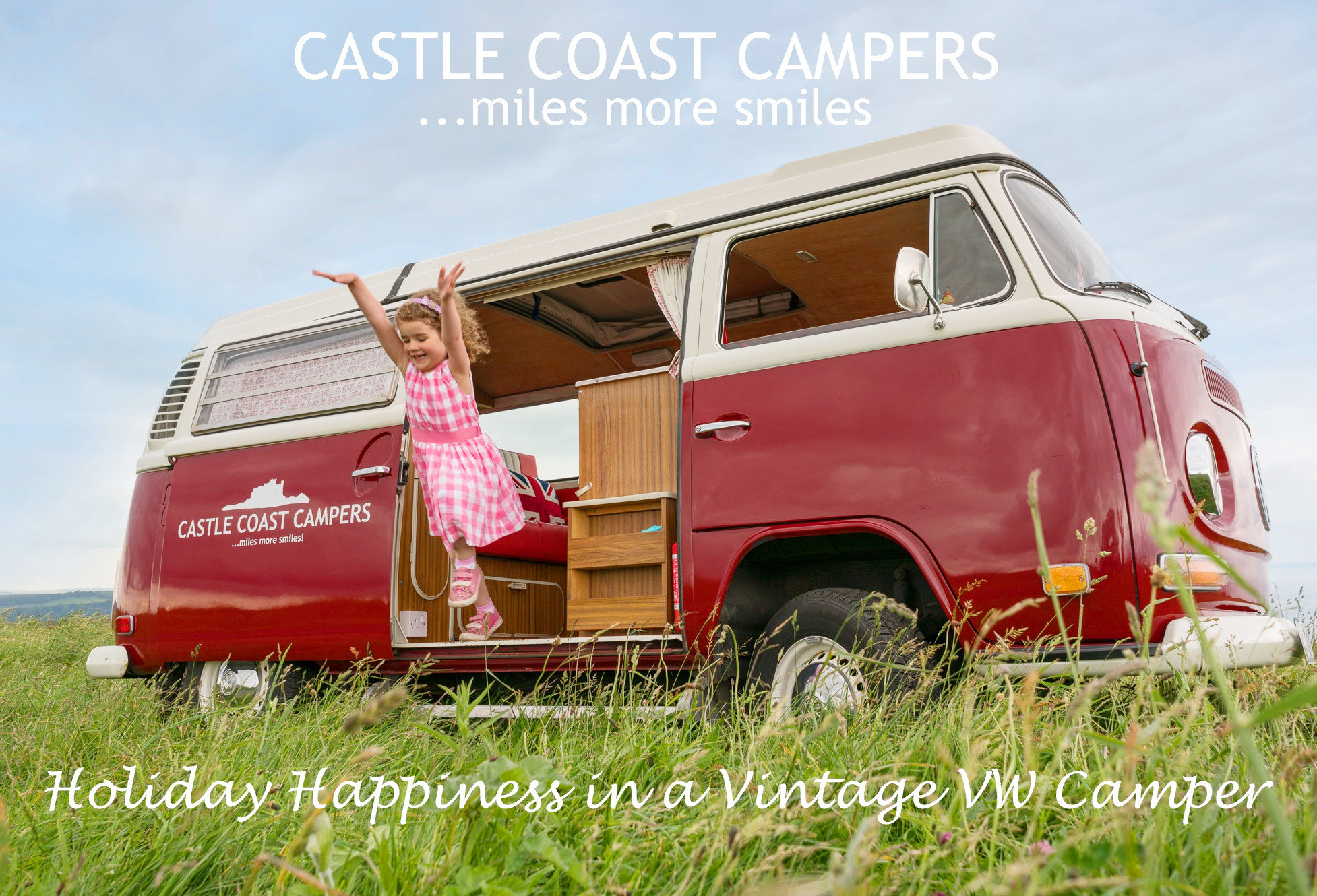 Castle Coast Campers - Classic VW Campervan Hire, VW Camper