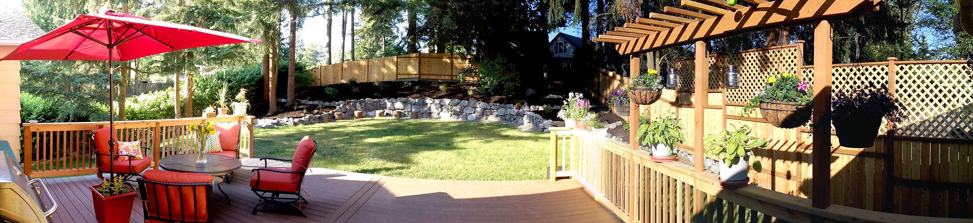 Composite Deck with Railing Install & La