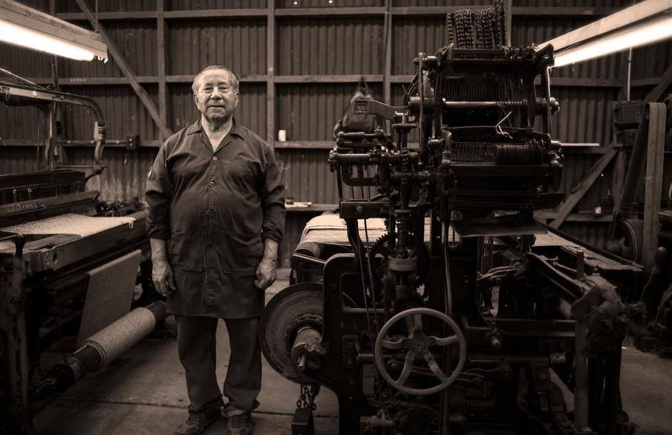 """""""Don José"""" Fab. Textil La Ligua, V Región"""